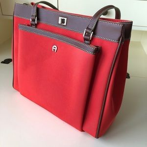 Red Etienne Aigner new bag